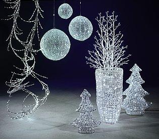 led para navidad acrilico