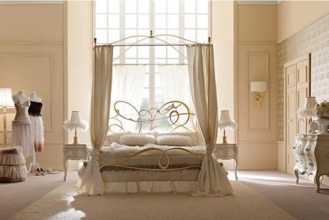 La cama con dosel rom ntica y elegante - Doseles de cama ...