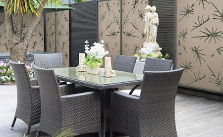 Paneles y biombos decorativos para jard n - Paneles decorativos exterior ...