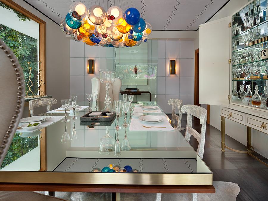 El vidrio en decoración de interiores   top en elegancia y diseño