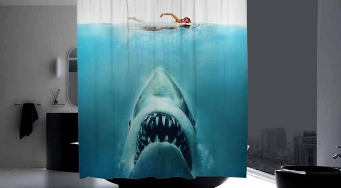 cortina baño tiburon