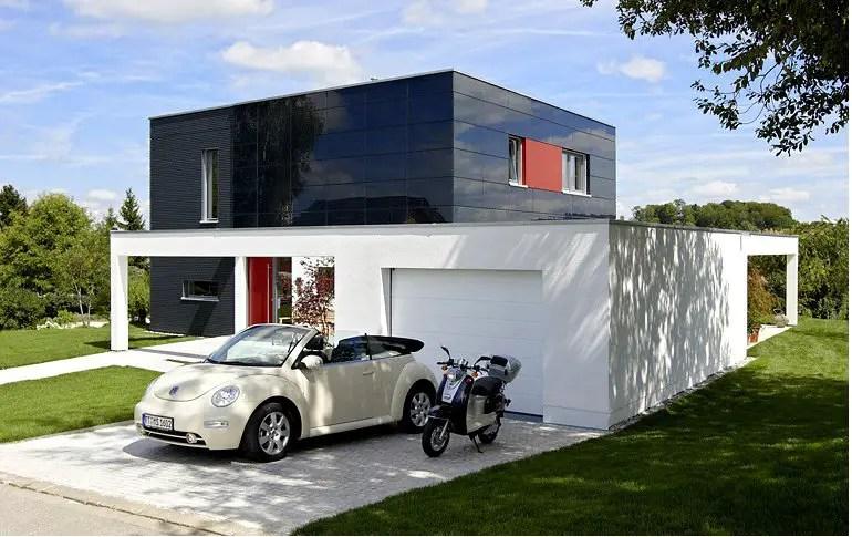 En allemagne une maison contemporaine eco friendly planete deco a homes world for Combien consomme une maison en kwh