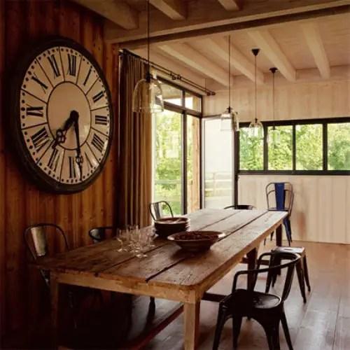 le chalet de l 39 angel des montagnes planete deco a. Black Bedroom Furniture Sets. Home Design Ideas