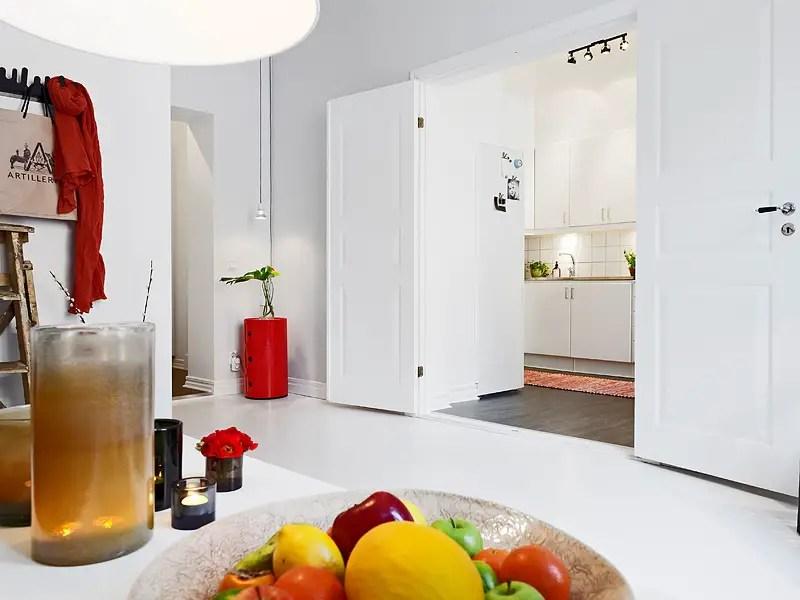 Un parfait appartement pour c libataire stockholm planete deco a homes world - Cuisine pour celibataire ...