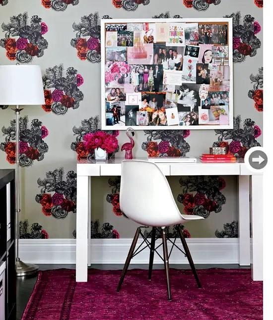 Un appartement f minin et glamour pour une c libataire for Deco appartement feminin