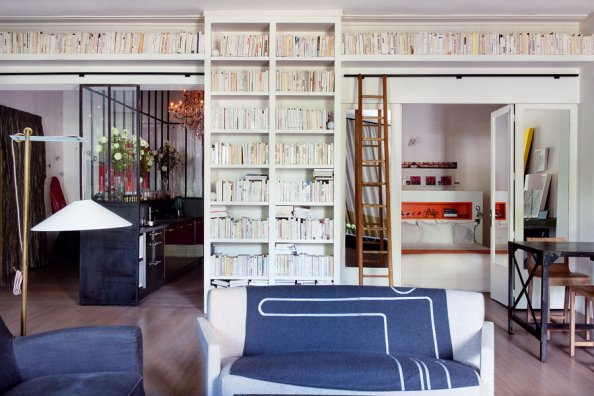 Un appartement d 39 architecte paris planete deco a homes for Appartement architecte paris