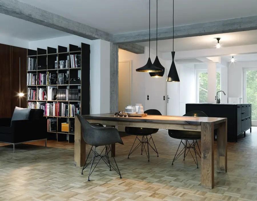 Style sixties en noir et blanc planete deco a homes world for Design appartement hamburg