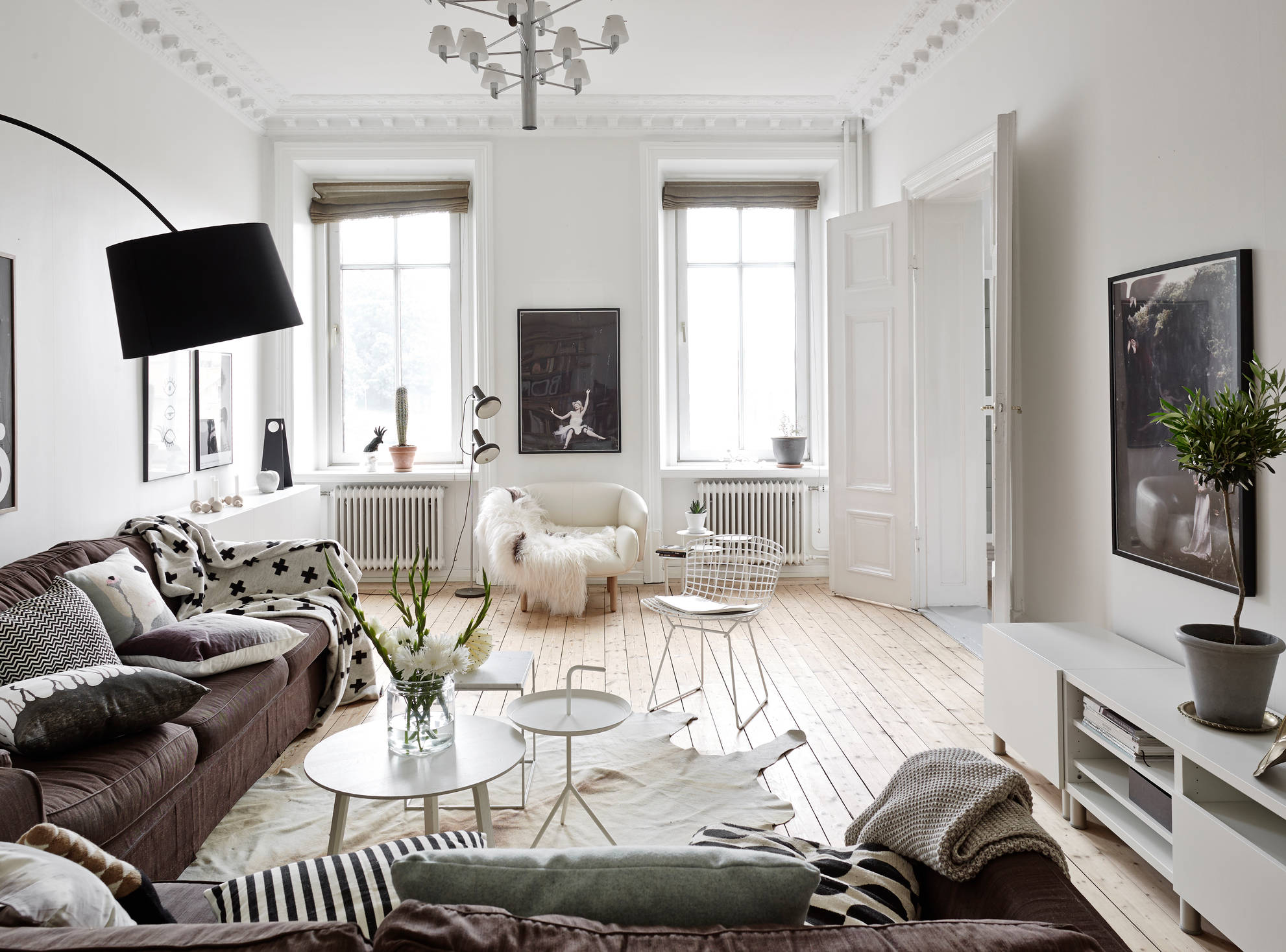 Ambiance cocooning planete deco a homes world Wohnzimmer scandi style
