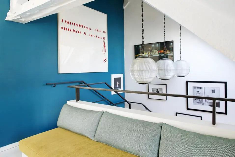 duplex centre paris sarah lavoine. Black Bedroom Furniture Sets. Home Design Ideas