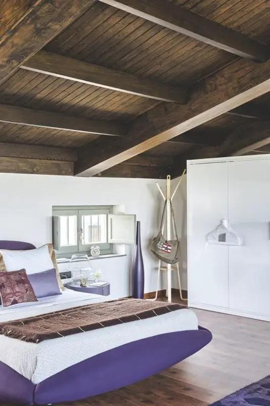 les petites surfaces du jour un mini loft la campagne planete deco a homes world. Black Bedroom Furniture Sets. Home Design Ideas