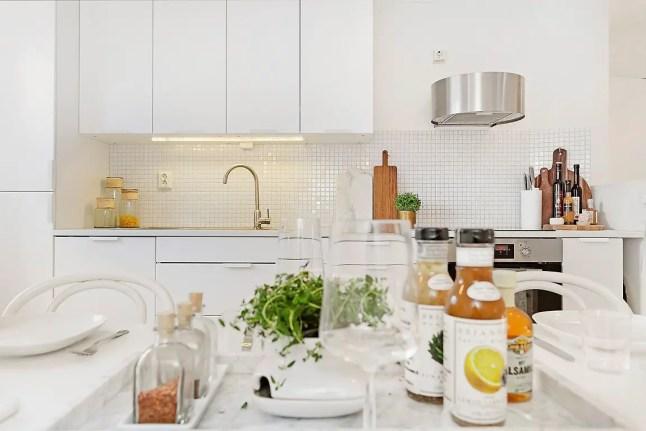 Une cuisine ouverte mais pas trop planete deco a homes for Planete cuisine