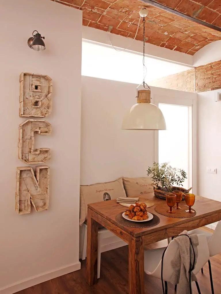 decoración con letras cocinas