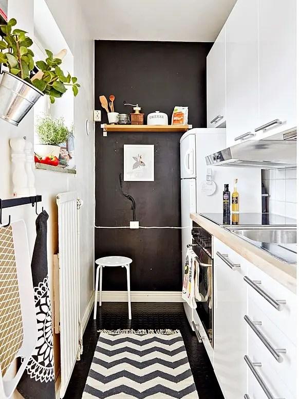 Les petites surfaces du jour un studio en ville for Petite cuisine equipee pour studio