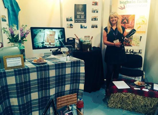 Visit Scotland Expo Stand