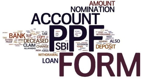 SBI PPF ACCOUNT OPENING FORM