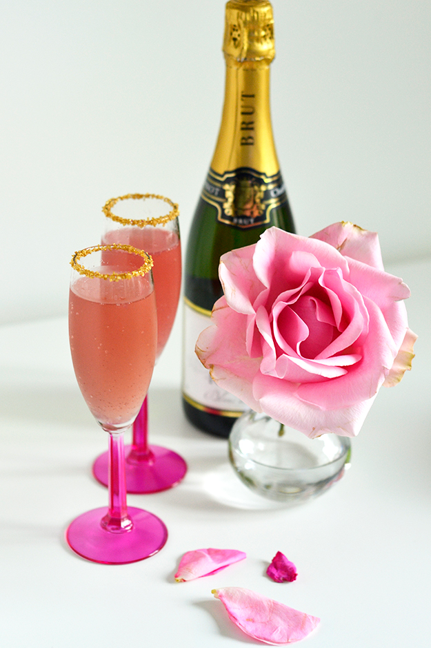 Valentine Bellini Cocktail
