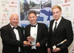 Sam Browne MD (Middle) Jason McAuley System Director (Right)