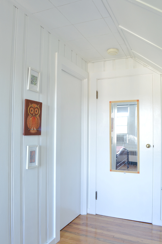 Light and airy attic guest room makeover -- Plaster & Disaster
