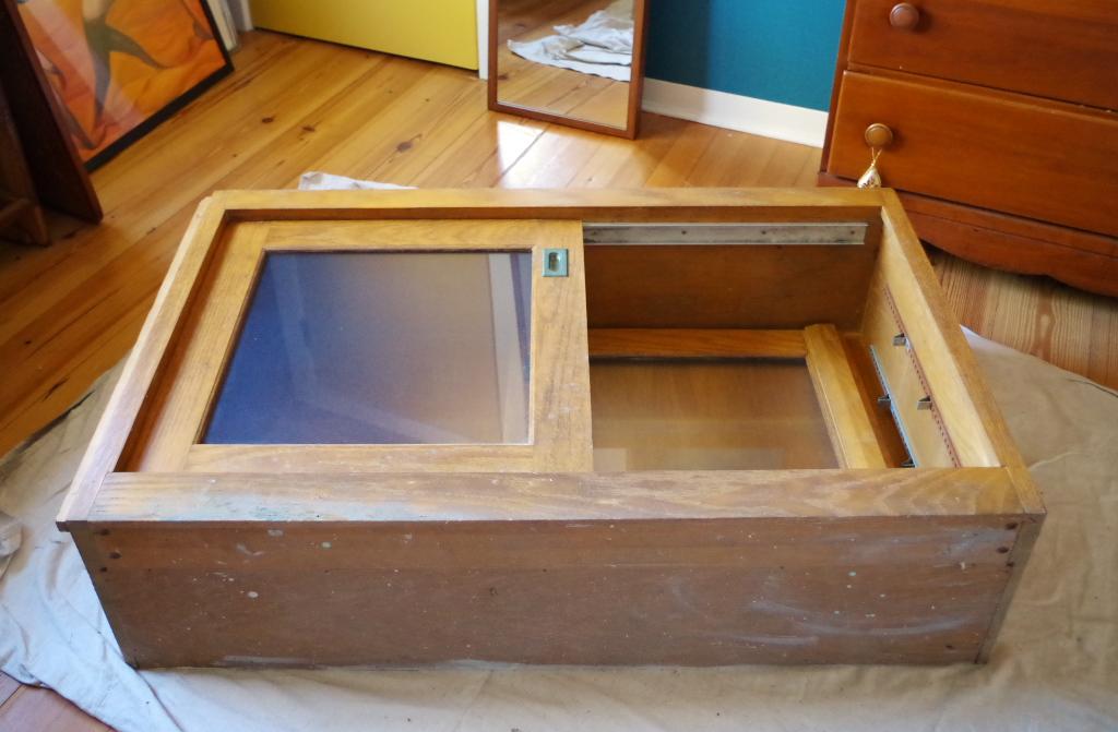 Salvaged Cabinet Makeover - Plaster & Disaster