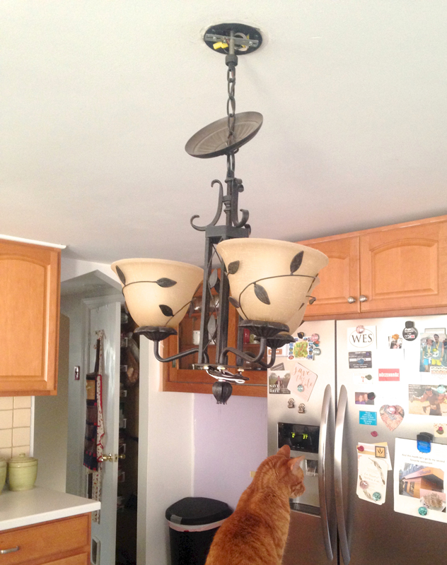 New kitchen light -- Plaster & Disaster