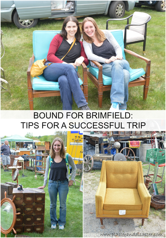 Tips for a successful trip to Brimfield -- Plaster & Disaster