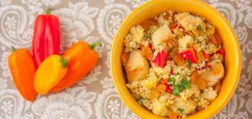 Orange Cumin Chicken and Couscous