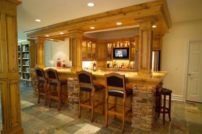 CUSTOM HOME BAR DESIGNS | Over 5000 House Plans