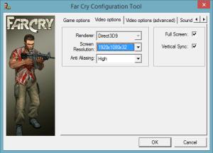 FarCry-Settings