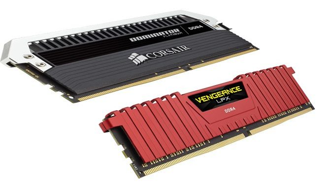 pc platforms with vengeance lpx and dominator platinum ddr4