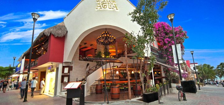 La Casa del Agua Restaurant Playa del Carmen