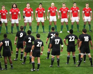 Wales vs New Zealand 3rd Test Match Rugby