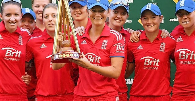 Women's cricket leading the way for England