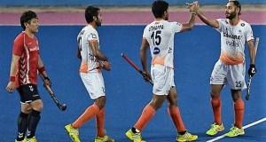 India vs Japan Hockey Match