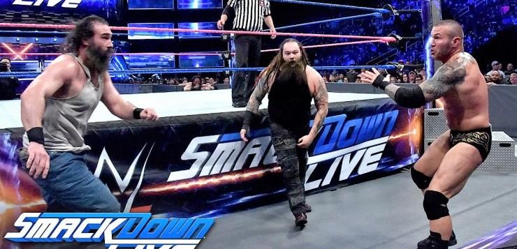 WWE SmackDown Live Results From October 11   Randy Orton & Kane vs. Bray Wyatt & Luke Harper