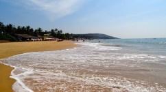 Photo de la plage de Calangute a goa en Inde