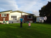 Chez la famille à Rotorua