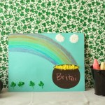 Simple St. Patrick's Day Craft for Kids with Crayola