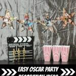 Easy DIY Oscar Party Decorations