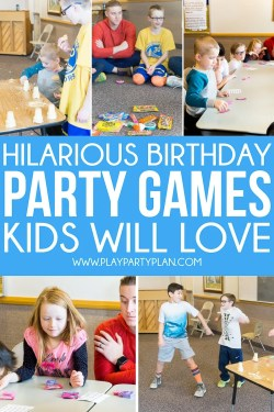 Small Of Birthday Party Games
