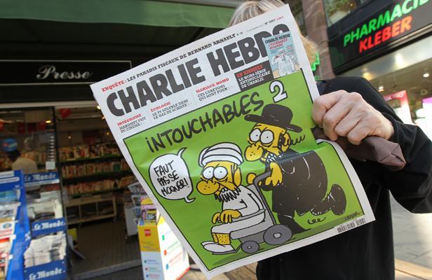 Caricaturas del semanario francés Charlie Hebdo