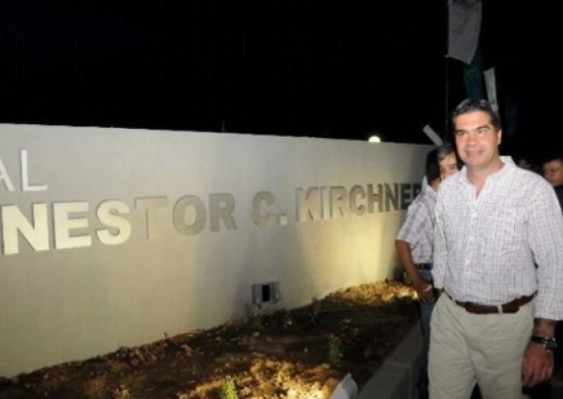 Hospital Néstor C. Kirchner en Villa Rio Bermejito Chaco