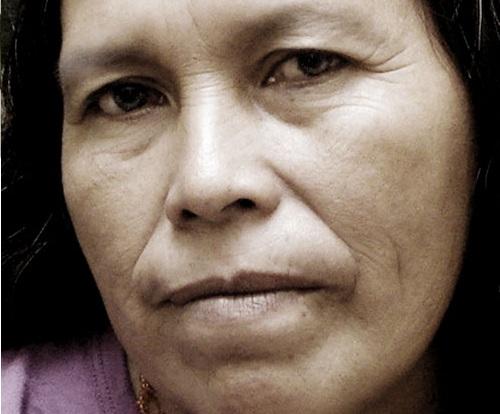 Amanda Asijak, tía del Juan Daniel