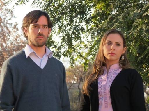 Nicolás del Caño, diputado nacional por Mendoza, y Soledad Sosa. Rotarán la banca.