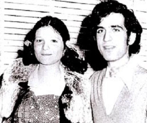 Su hijo, Marcelo Ariel Gelman y su esposa secuestrada en 1976