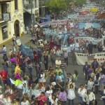 Docentes Salta: la más grande movilización contra Urtubey