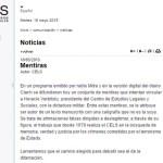 Carta Abierta al CELS
