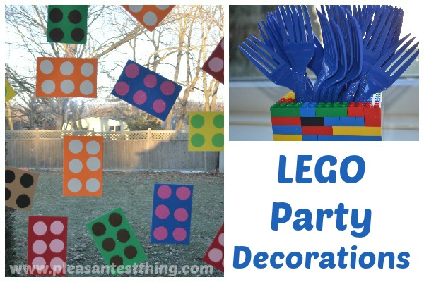 Lego party planner for kids for Decoration lego