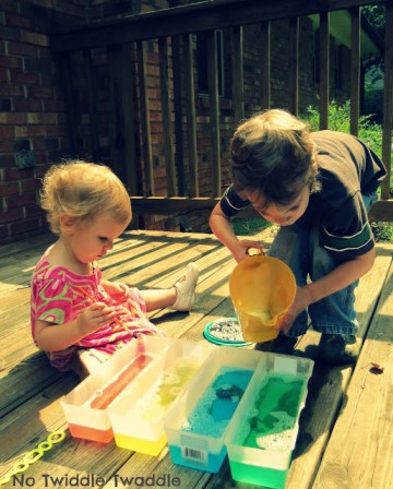 Science ideas for toddlers