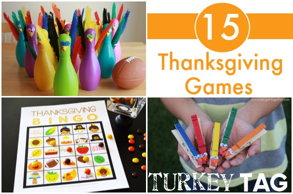 Thanksgiving games the pleasantest thing Fun family thanksgiving games