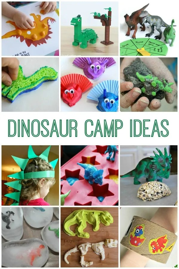 Dinosaur Camp Ideas